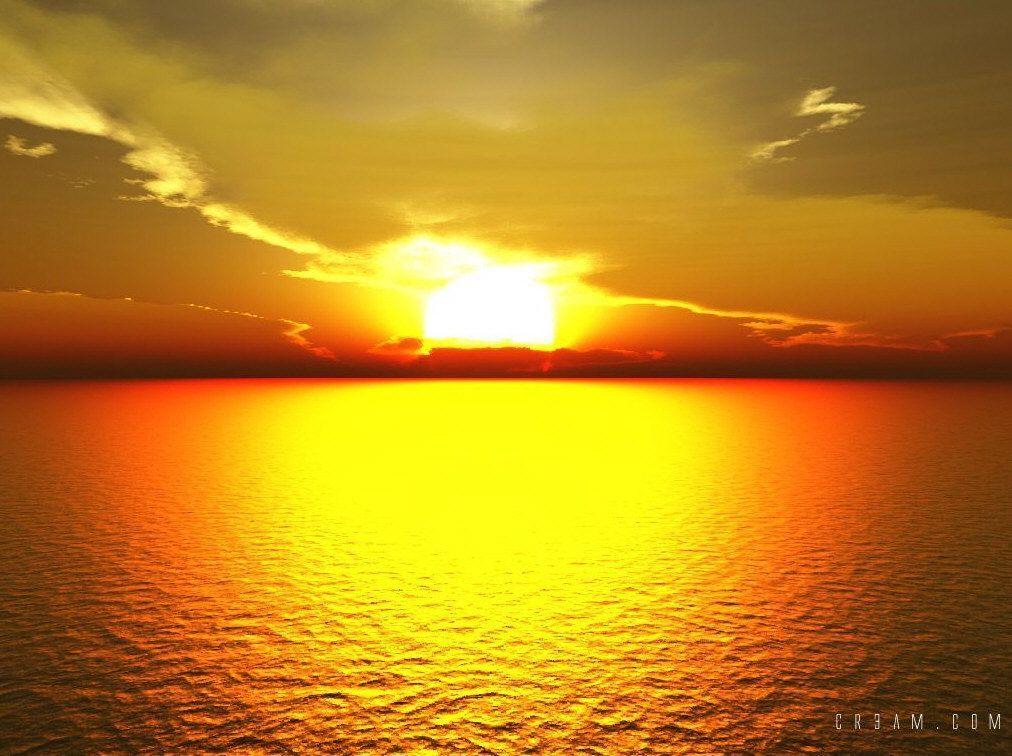 Un petit couche de soleil for Sfondilandia mare